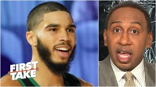 'Jayson Tatum is an emerging superstar' & it's over for the Raptors - Stephen A. | First Take