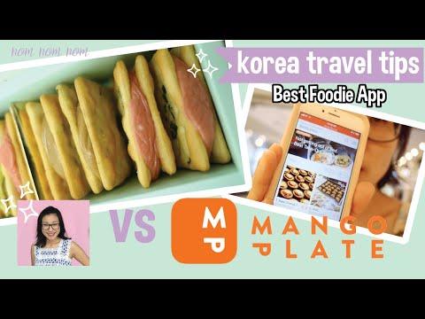 🍕Best Korean Foodie App  feat. Mango Plate [ 망고플레이트] | Amazing Korean Dessert in Seoul