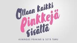 Kuningas Pähkinä & Setä Tamu - Ollaan Kaikki Pinkkejä Sisältä (Lyrikkavideo)