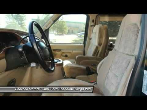 Bedrock Motors Rogers - 2001 Ford Econoline Cargo Van Recreational Rogers, Blaine, Minneapolis, St Paul, MN 5825