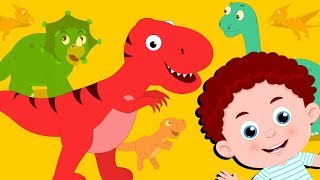 Dinosaur Song | Schoolies Cartoon Videos | Song For Children