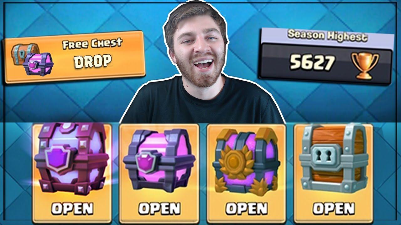 OPENING ALL BEST CHESTS! | Clash Royale | NEW FREE CHES ...