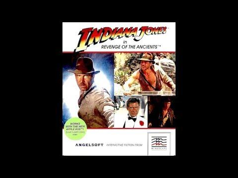 Indiana Jones in Revenge of the Ancients walkthrough (Apple II - Angelsoft/Mindscape)