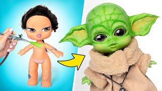 Making Baby Yoda From An Old Bratz Doll