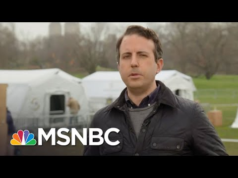 Field Hospital In Central Park Expected To Open Tomorrow | MTP Daily | MSNBC