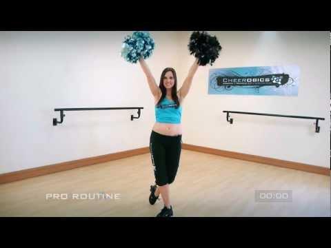 Cheerleading Dance Tutorial - Advanced