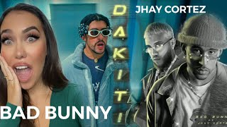 FEMALE DJ REACTS TO LATIN MUSIC 🔥 Bad Bunny x Jhay Cortez - Dákiti (REACTION/REACCION)