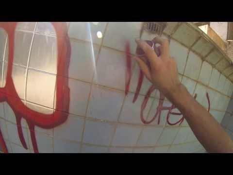 Grafite Brasil - Piscina Abandonada (Belo Horizonte-MG)