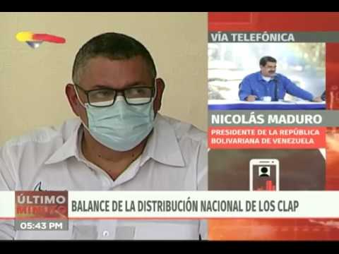 Despliegue Nacional de los Clap desde el Palacio de Miraflores, 19 marzo 2020