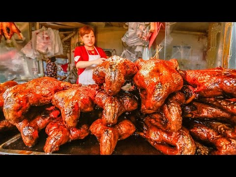 Chinese Street Food Tour in Sichuan, China | Street Food in China Best SPICIEST Food