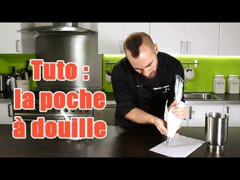 Tuto utiliser une poche douille youtube for Poche cuisine douille