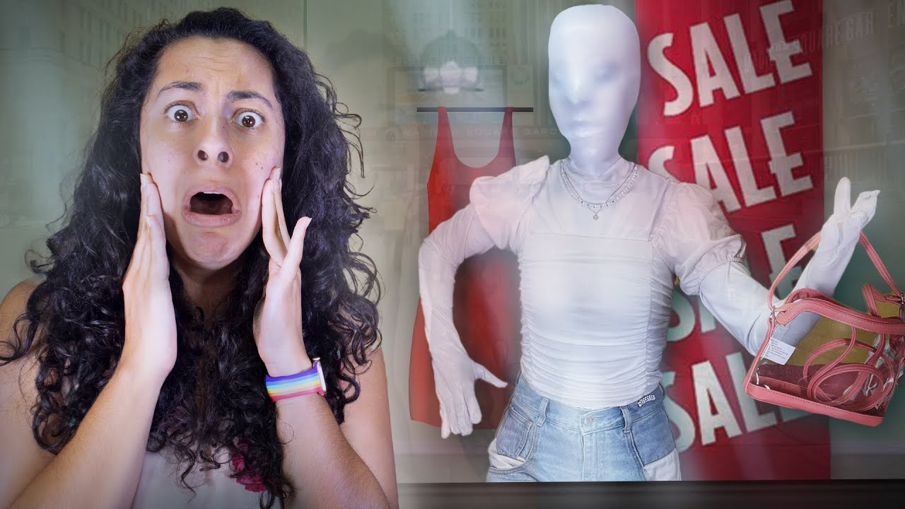 Our Sister Turned Into A Mannequin!