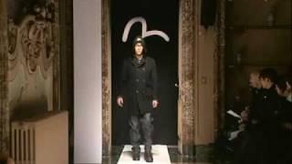evisu aw08 milan men s fashion show