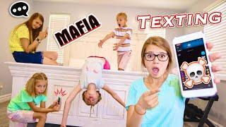 Texting Mafia In TaNnErITeS NEW Pool HoUsE Alexia, Daniell, Savannah, Lizzy, Az, Canyon! FaMiLy GaMe