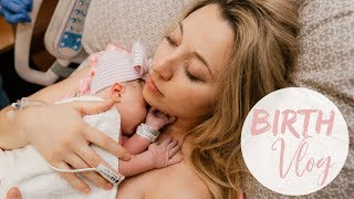 BABY GIRL'S BIRTH VLOG! // HOSPITAL BIRTH WITH EPIDURAL 2019 //