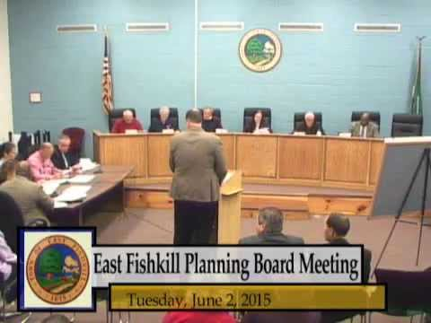 6-2-15 East Fishkill Planning Department Meeting