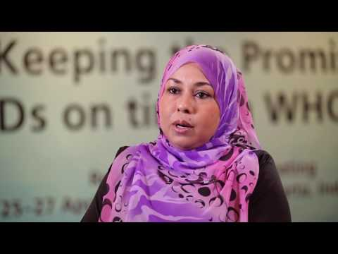 Dr Aishath Rameela, Min of State for Health, on eliminating NTDs in the Maldives
