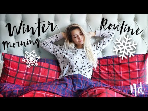 MY WINTER MORNING ROUTINE 2017!