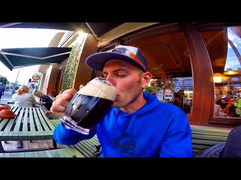 Пьем ПИВО в Праге, Чехия.