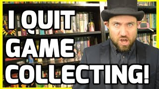 Why I Am Quitting Game Collecting! - Retro Gaming Collection Talk