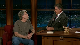 Late Late Show with Craig Ferguson 8/6/2012 Stephen King, Dave Barry, The Rock Bottom Remainde