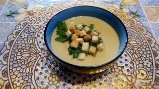 Безумно Вкусный и Сытный Крем Суп из Чечевицы Филе Курицы Сливок и Сухариков