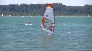 Chiemsee Austria Lake Beach Sailboats
