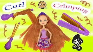 Holly O'Hair Daughter of Rapunzel Curling Iron Crimping Tools Hairstyling Ever After High Doll