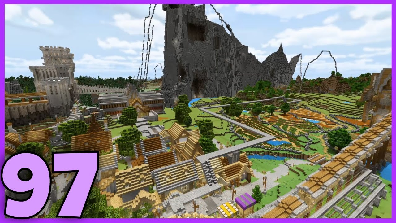 PREPARING FOR THE WHITE CLIFFS! - Bedrock Survival: [Minecraft   Single Player   Lets Play]