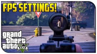 "GTA 5 PS4 / Xbox One ""FIRST PERSON"" Settings Indepth! Field of View, FPS Controls & More! [GTA V]"