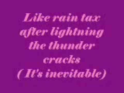 Rain tax by Celine Dion lyrics