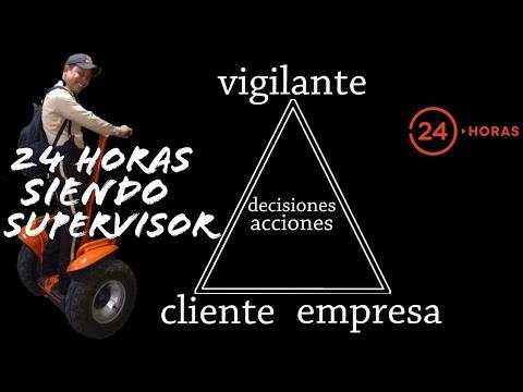 SUPERVISOR De Seguridad Privada | El MEJOR Tutorial EXPLICADO | 24 Horas Siendo... SUPERVISOR