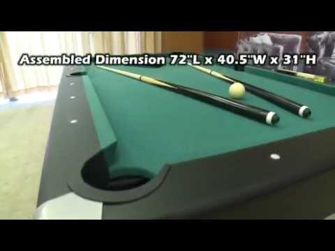 MD Sports In Billiard Table With Dartboard YouTube - Pool table stores in maryland