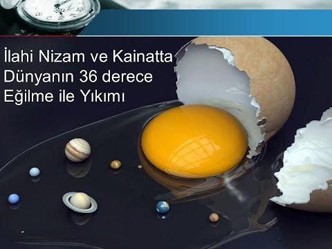 İlahi Nizam ve Kainat, Dünyanın Sonu  Öngörüsü thumbnail