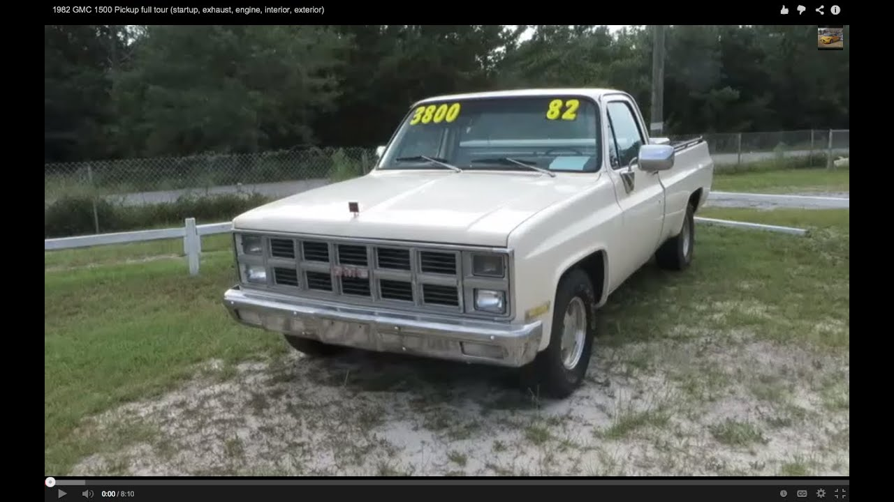 1982 GMC 1500 Pickup full tour (startup, exhaust, engine, interior,  exterior)