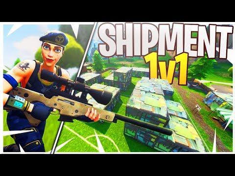 We REBUILT Shipment and Had a Sniper 1v1! (iTemp vs. Ali-A Sniping 1v1)