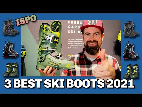 Top 3 Best New Ski Boots Winter 2021 - ISPO Preview