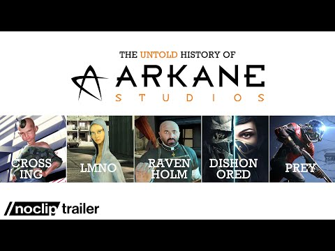 The (Untold) History of Arkane Studios - Noclip Documentary Trailer