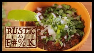 Best Beef Chili Recipe Ever (but Good For You)! - Rustic As F#%k
