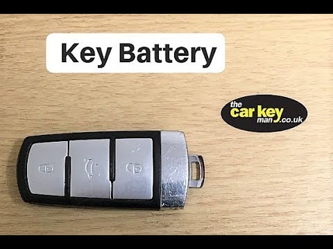 change vw cc key battery