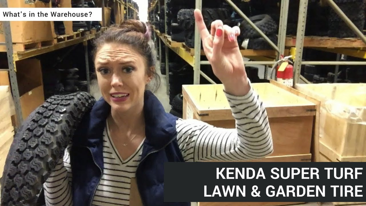 Whatu0027s In The Warehouse: Kenda K500 Super Turf Lawn U0026 Garden Tire
