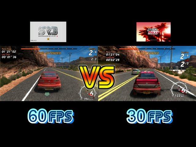 Sega Rally 3 Vs Sega Rally Online Arcade  (Sega Europa R Vs PS3) - Canyon