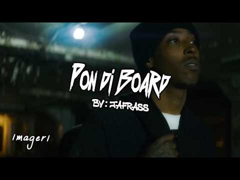 Jafrass - Pon The Board (UNOFFICIAL VIDEO)  Everything deh yah 2018
