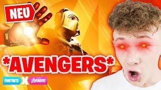 *NEU* WIR TESTEN DAS AVENGERS UPDATE ! 😱 NEUER ENDGAME MODUS 🔥 Fortnite Avengers Endgame