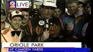 WMAR-TV Baltimore - 1992 - Camden Yards Opens - Part 1