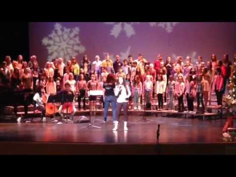 Chaminade Middle School C-Notes - Rehearsal - 12/6/14 - Let It Go 1
