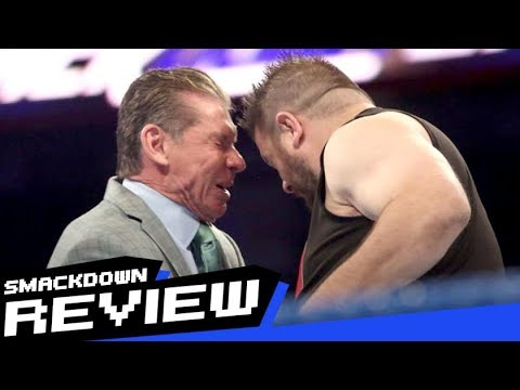 REVIEW-A-SMACKDOWN 9/12/17: Kevin Owens headbutts Vince McMahon, Mae Young Classic Finals