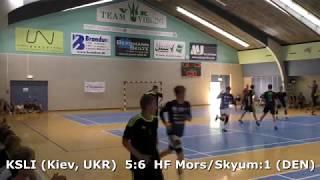 Handball. Mors/Skyum:1 (DEN) - KSLI (Kiev, UKR). Semifinal. U16boys. GENERATION HANDBALL-2018