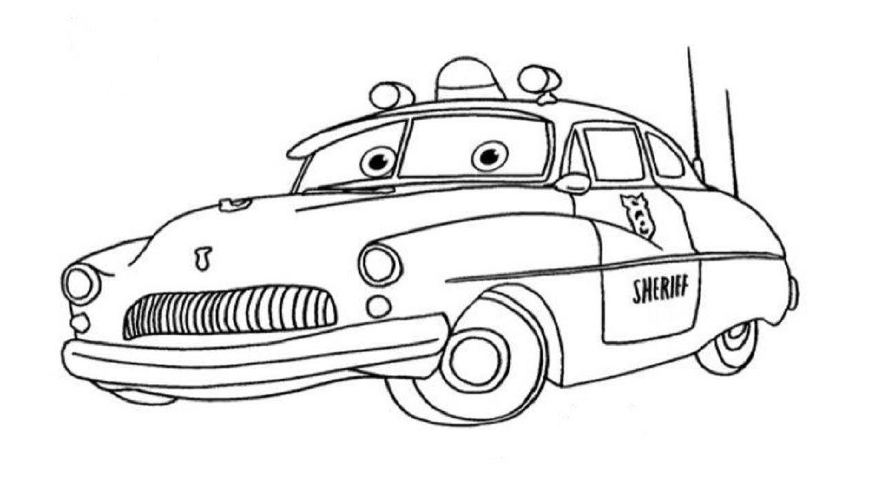 Gambar Draw Car Easy Step Youtube Coloring Pages Demolition Derby