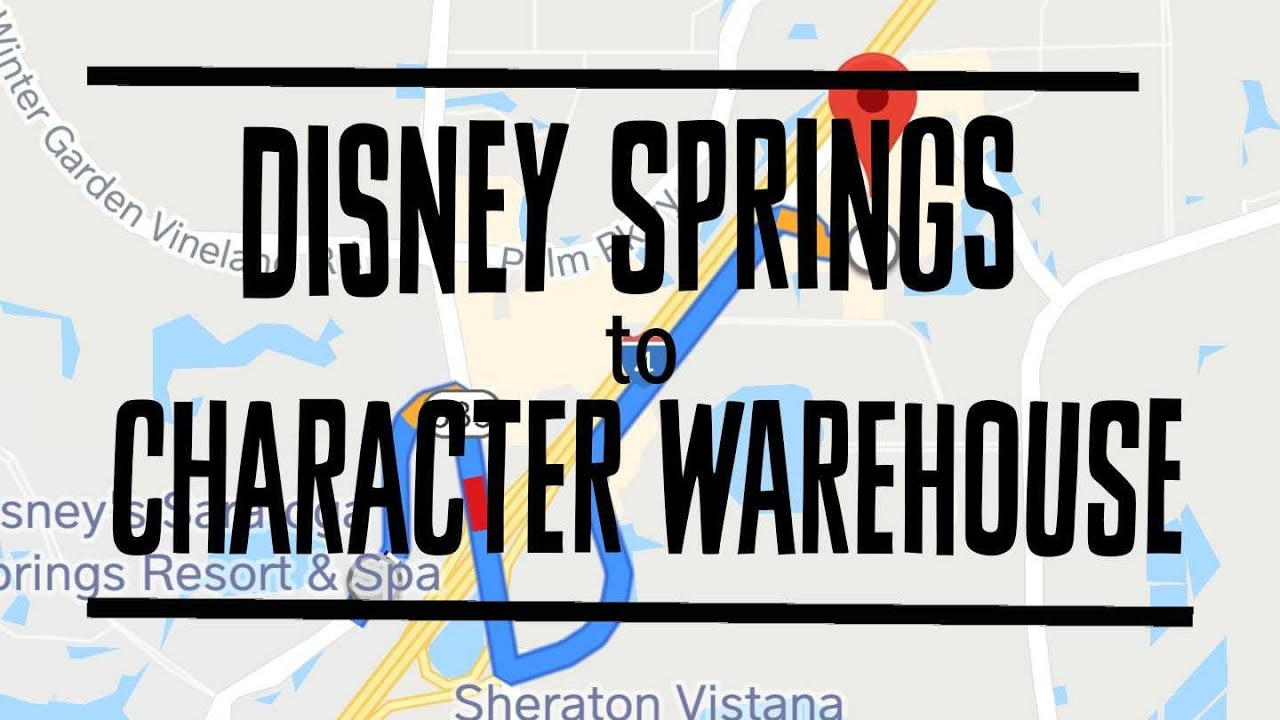 How to get to Disneys Character Warehouse from Disney Springs!